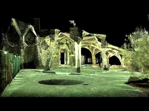 Colonia Guell 3D Point Cloud