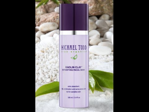 Facial Mask for Acne | Michael Todd True Organics Kaolin Clay Facial Mask Maximum Strength