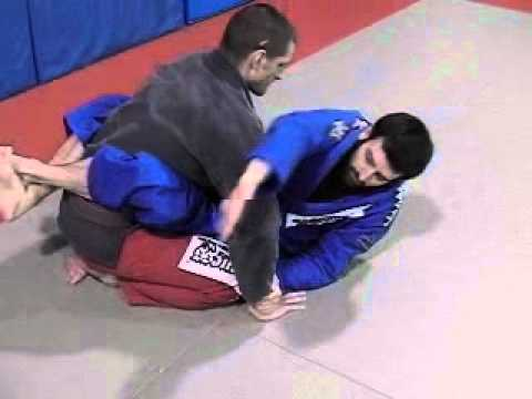 A Kimura Submission Practice Drill - Brazilian Jiu Jitsu Technique