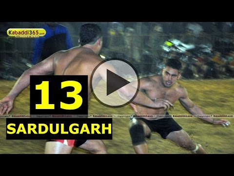 Sardulgarh (Mansa) Kabaddi Tournament 10 Jan 2015 Part 13 by Kabaddi365.com