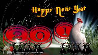 Happy New Year Greeting Card 2014 Animated New Year E