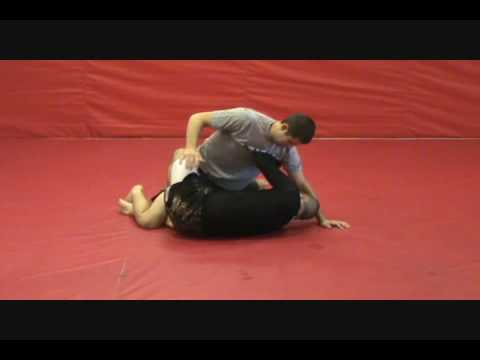 Establishing X Guard from Half Guard