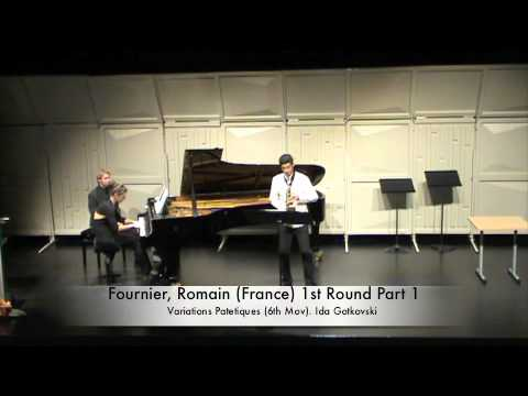 Fournier, Romain (France) 1st Round Part 1