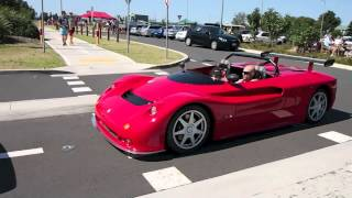 Maserati Barchetta Hard Acceleration (HD)