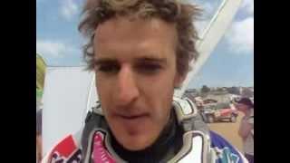 Xavier de Soultrait et sa premiere Dakar