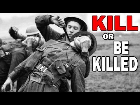 Kill or Be Killed | U.S. Army WW2 Training Film | Self Defense and Combat Techniques, Hand Weapons