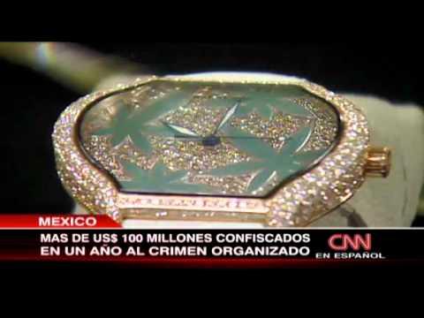 Riquezas del narcotráfico Autos y joyas bienes confiscados al crimen organizado en México
