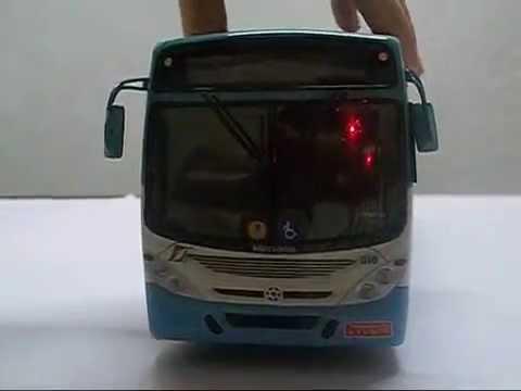 Miniatura de Ônibus Torino G7