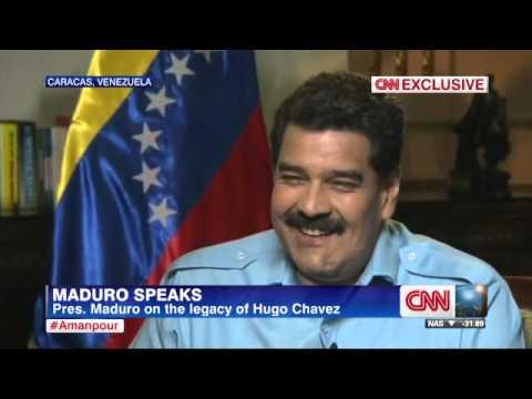 CNN Entrevista a Nicolás Maduro