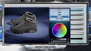 PS4 NBA 2K14 HOW TO CREATE AND WEAR YOUR OWN SHOE ONLINE