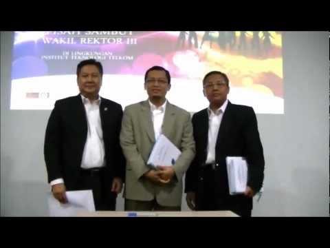 Wakil Rektor Bidang Kerjasama dan Pengembangan IT Telkom, Dr  Teguh Widodo SE ST MM