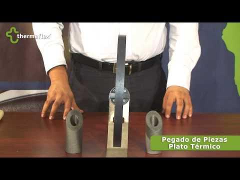 Thermaflex - 7 Pegado de piezas con plato termico
