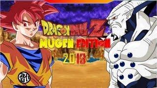 Dragon Ball Z Mugen Edition 2013 Atualizado (Goku SSJ God