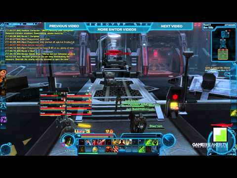 ★ Star Wars: The Old Republic - Taugrim Talks PVP - Smuggler Gunslinger
