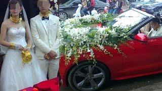 Cô dâu chú rể Lạng Sơn chẳng còn chỗ nào mà đeo thêm vàng nữa