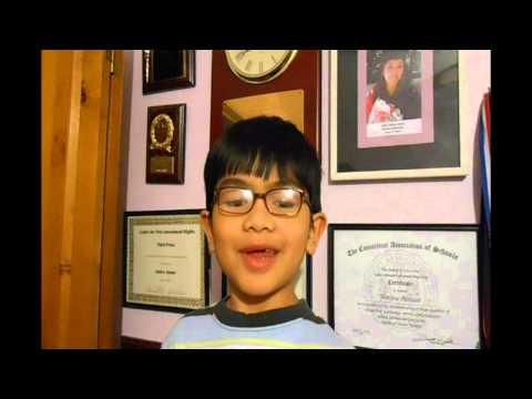 Adik Aiman Amerika Cuba Bercakap Bahasa Melayu