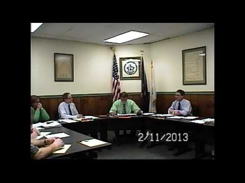 Champlain Village Board Meeting 2-11-13