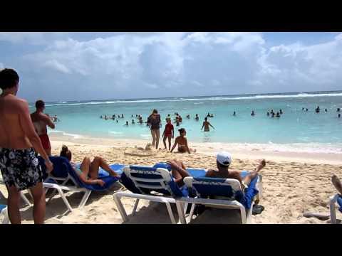 MVI 3239 Coba Beach, sun and fun (Grand Bahia Principe Coba)