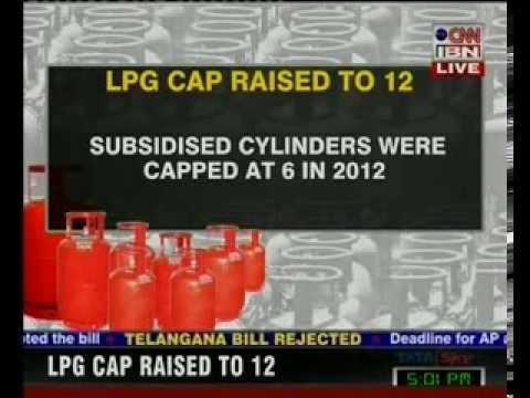 Cabinet accepts Rahul Gandhi's LPG subsidy demand