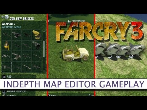 Far Cry 3 Map Editor - First Look - Platform32