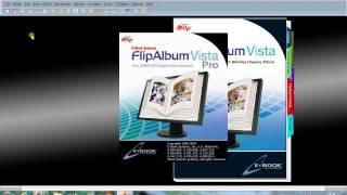 วิธีที่ 1 การเปิดโปรแกรม FlipAlbum