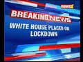 White House placed on lockdown over a suspicious package