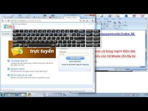 Hướng dẫn Crack Pass 2 - Dùng mk cấp 1 lấy lại mk cấp 2 - Zing ID - ColoryLIFE
