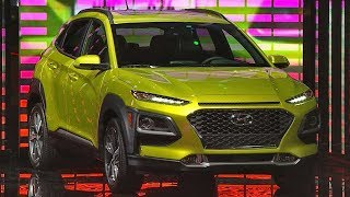 Hyundai Kona Live Reveal. MotorTrend.