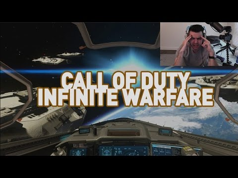 MY REACTION TO CALL OF DUTY: INFINITE WARFARE TRAILER