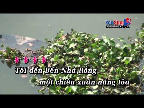 Tham Ben Nha Rong - Anh Tho karaoke
