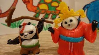 "Kung Fu Panda 3 Opening Kinder Surprise Eggs (Bao, Mei Mei )""11"""