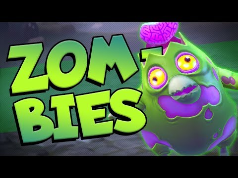 This ZOMBIES Gamemode was CRAZY FUN! Realm Royale Custom Game