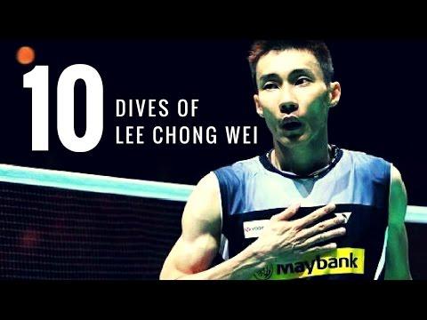 TOP 10 BEST DIVES OF LEE CHONG WEI