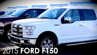 All-New Ford 2015 F150 Ride & Drive Event Test Drive