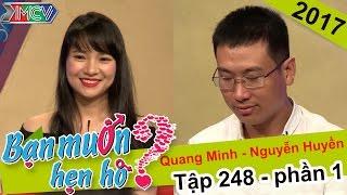 Thành công tác hợp cho chàng thủy thủ và nàng kế toán xinh xắn | Quang Minh - Thị Huy�n | BMHH 248