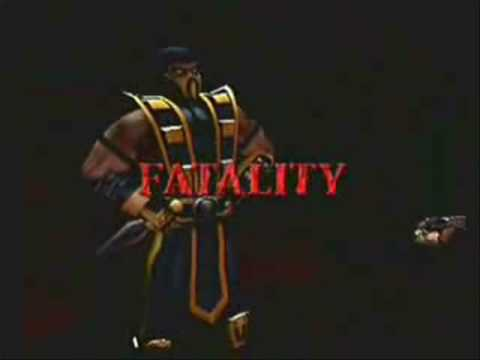 Every Scorpion Fatality Ever! (MK1 to MK V DCU)