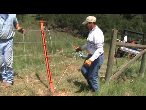 Electralock Fence Stretcher Youtube