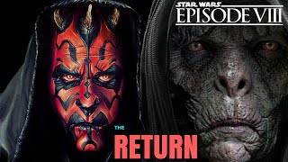 SNOKE IS DARTH MAUL THEORY EXPLAINED - STAR WARS EPISODE 8 THE LAST JEDI