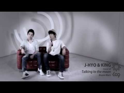 J-HYO & KING Cover Of Talking to the moon (Bruno Mars)