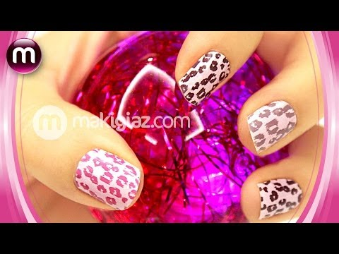 MakigiazCom -  How to apply and remove sticker nail foils / Εφαρμογή και Αφαίρεση sticker νυχιών