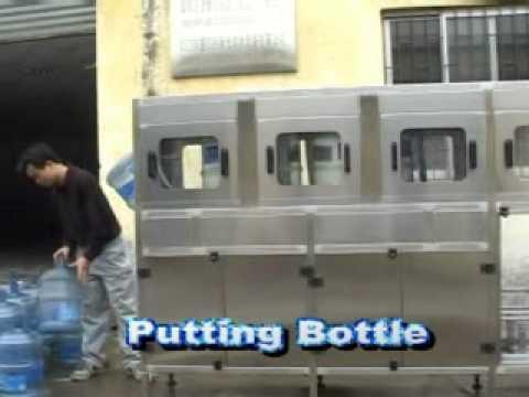 maquina llenadora de botellon ( 100 por hora ) de 3- 5 Galones  100