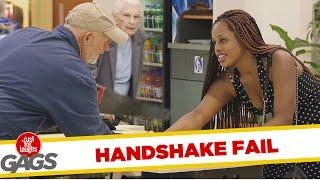 Funny Glue Handshake Prank