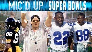 Best Mic'd Up Sounds in Super Bowl History: Trash-Talk, Fails, Celebrations, & More!