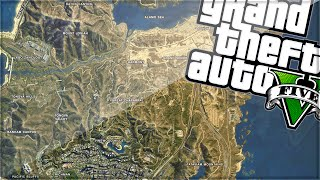 RACE ACROSS THE WHOLE MAP! (GTA 5 Funny Moments)