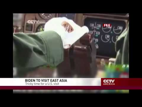 VP Biden's East Asia visit coincides with air defense zone developments