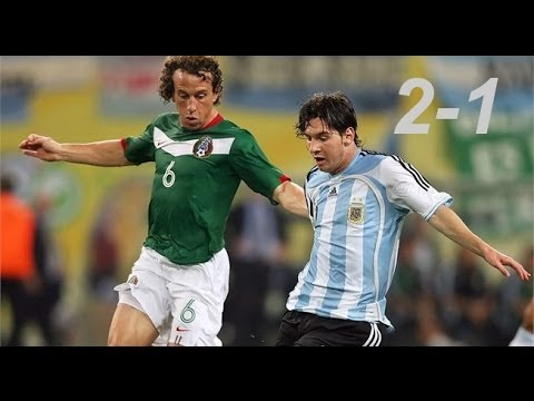Lionel Messi vs Mexico ⚔ (2006 World Cup)|by IsaacFutbol4HD