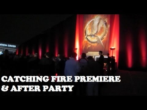 CATCHING FIRE PREMIERE - LOS ANGELES - NoVLOGber Day 18