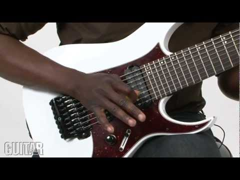 Tosin Abasi - Animals as Leaders - September 2012 issue, part 1