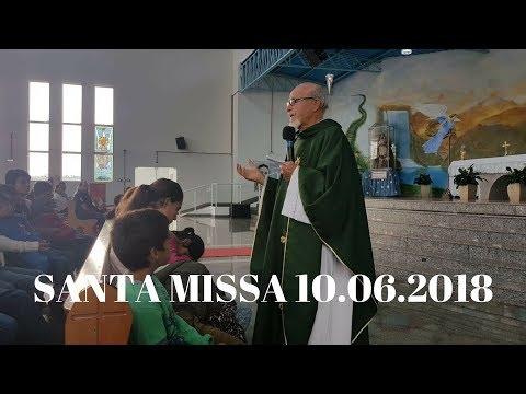 Santa Missa | 10.06.2018 | Padre José Sometti | ANSPAZ