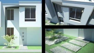 Planos gratis casa moderna minimalista parte 1 vea mas for Casa moderna minimalista interior 6m x 12 50m